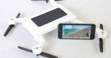 iPhone 與無人機合體  PhoneDrone
