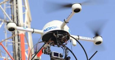 Nokia 研製無人機 空中檢查手機訊號發射站