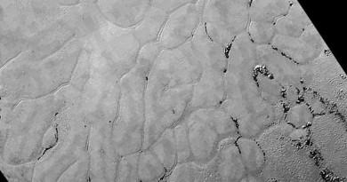 冥王星上發現大片冰原 覆蓋範圍達20公里