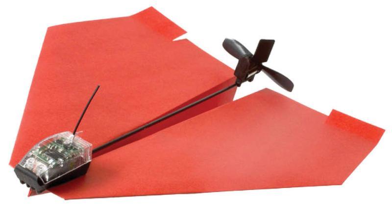 Tailor Toys PowerUp 3.0 連同採用原廠指定摺法的紙飛機