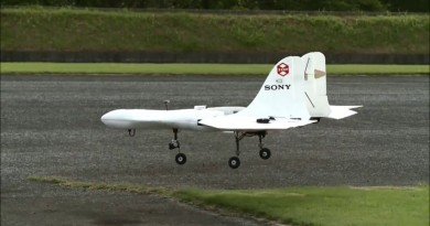 Sony Aerosense 無人機 2016 始動 勘察•分析空中大數據