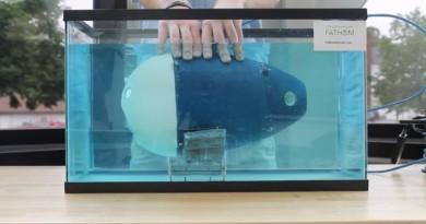 水中航拍實現!潛艇型無人機 Fathom 啟航