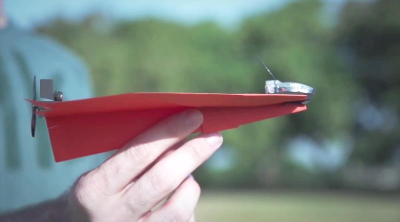 FAA 批准商業放飛電動紙飛機