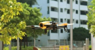 有型有款先決 Parrot Bebop Drone 試飛評測