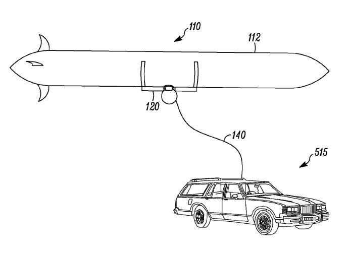波音空中充電專利示意圖