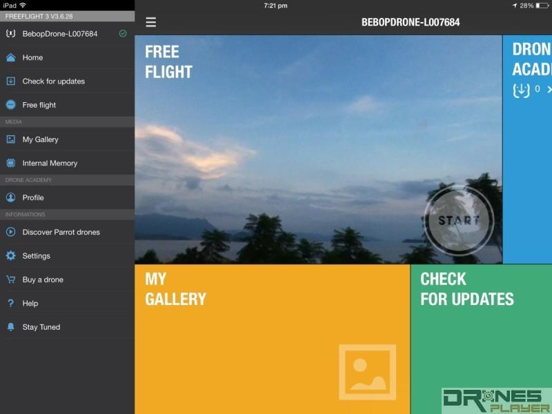 《Freeflight 3》似乎著重推廣多過操作
