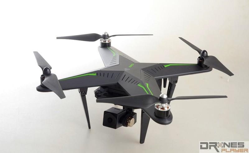 XIRO Explorer V 機身外形頗具科幻感,跟 Rapoo 主導產品設計不無關係。