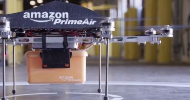 Amazon 貨運無人機 英倫先行 美國無影