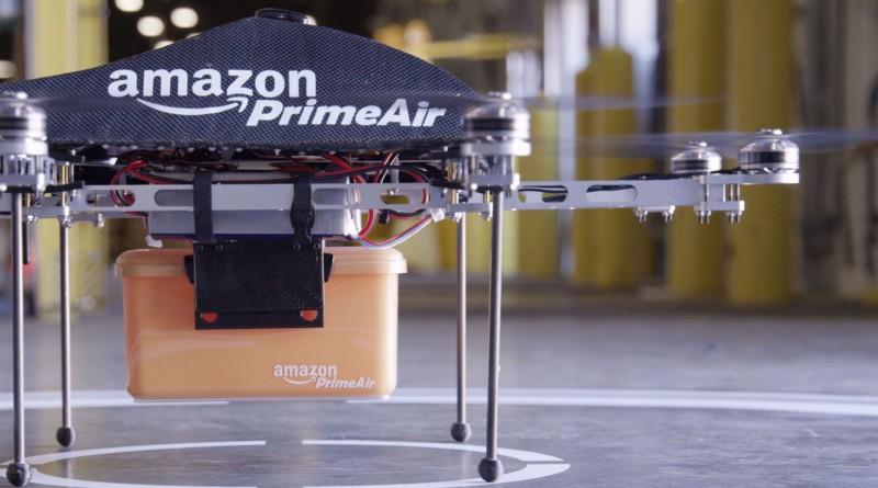 Amazon 貨運無人機 英倫先行