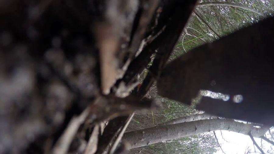 無人機墜落,GoPro 相機離體