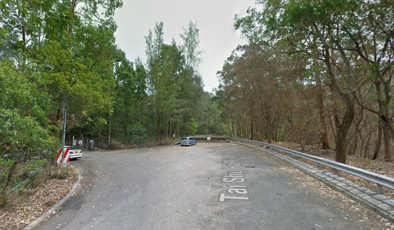 大樹下西路盡頭元荃古道附近的平原,高飛時可見到一大片元朗平原,是新界區的熱門航拍地點之一。(圖片來源:翻攝自 Google Maps)