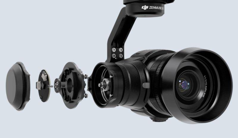 Zenmuse X5 系列的原裝鏡 DJI MFT 15mm f/1.7 ASPH