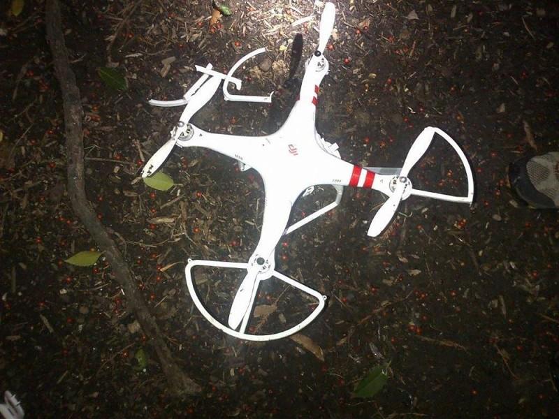失事無人機型號疑似為 DJI(大疆)Phantom 1