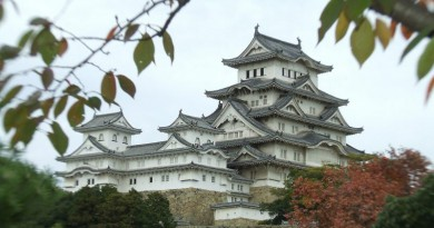 無人機剷日本國寶姬路城 放飛者主動投案