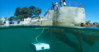 水底航拍興起!Trident 深潛 100 米讓你窺探海底世界