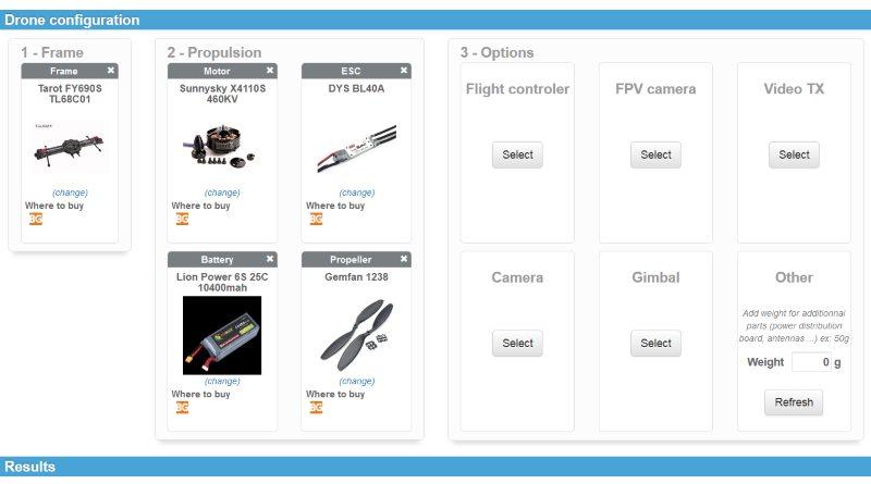 Drone Configurator 協助用家自行組裝無人機