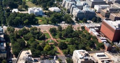 無人機徘徊白宮周邊 放飛男即時被捕