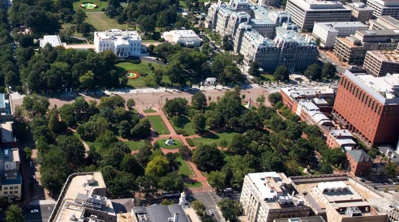 一名男子於白宮旁放飛無人機,即時被捕