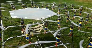 54 槳翼齊飛!超霸氣飛行器 The Swarm