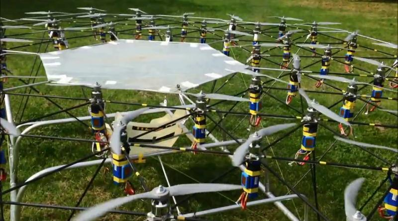 The Swarm 配備 54 個螺旋槳