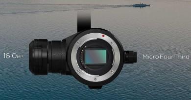 航拍機的換鏡時代 DJI Zenmuse X5 完全分析