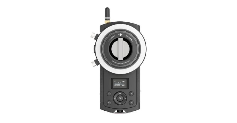 DJI 有推出專用的對焦器,未來有必要用在 Zenmuse X5 與 X5R 上。