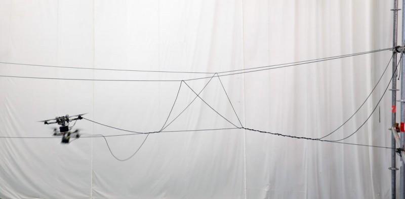 吊橋繩索總長 120 米