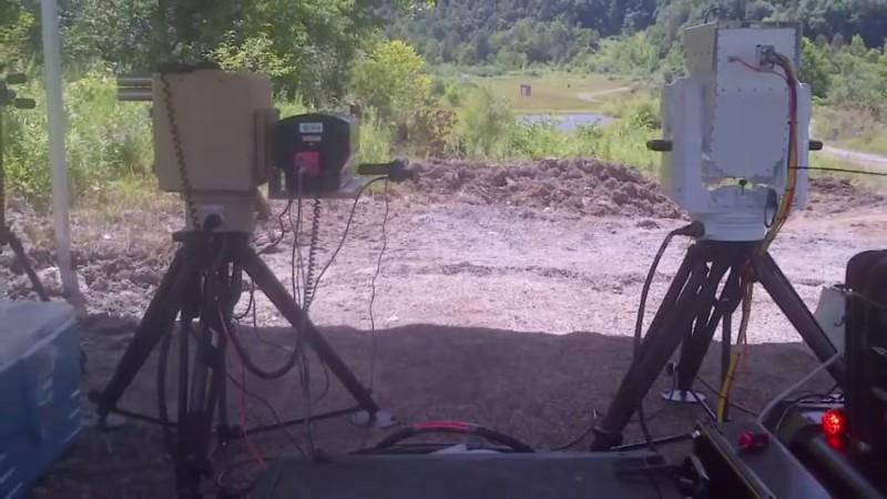 波音的反無人機方案「小型激光武器系統」。
