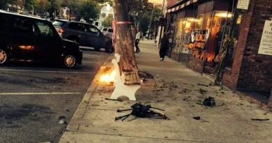 紐約攝影師無人機墜落變火球 高呼:「我完了!」