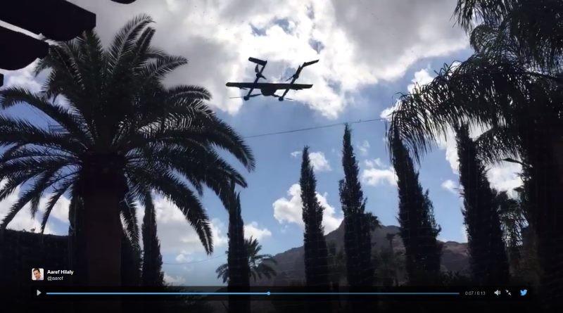 這就是 Google 的 M2 或者 B3 無人機嗎?