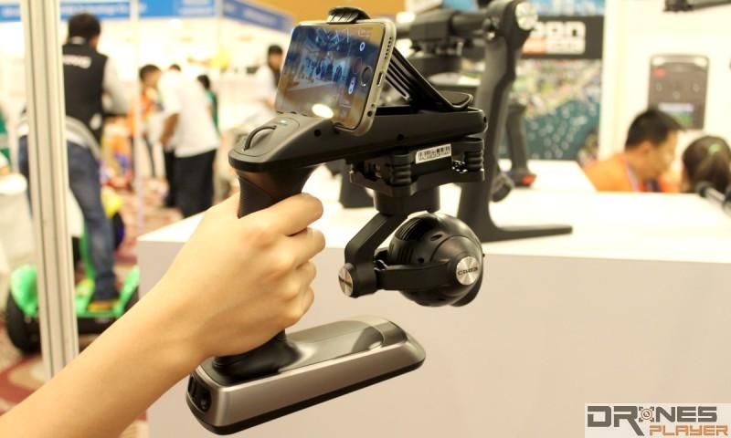 Yuneec CGO SteadyGrip 手提雲台原來有獨立發售版本。