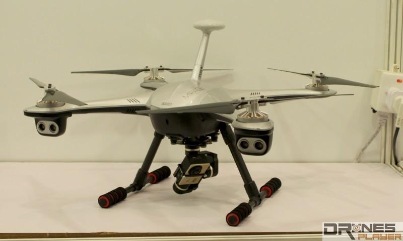 智航幻影無人機的雲台相當吊詭…...