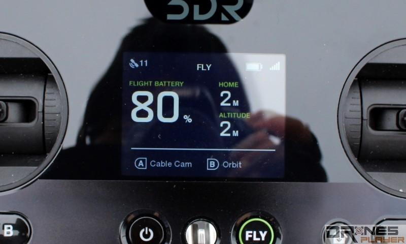 小型副屏幕顯示電量與距離