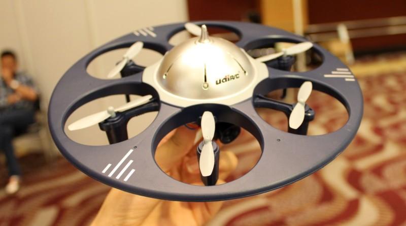 Udirc 新品 U845 WIFI 外形似足飛碟,這是向外星人偷師的嗎?