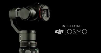 再向 GoPro 挑機 DJI Osmo 手持雲台支援 M4/3 鏡頭