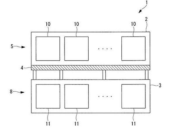 Olympus 申請感光元件專利技術的設計圖。