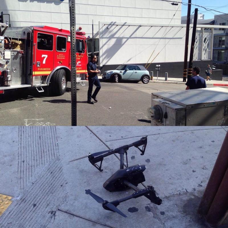 Instagram 用戶 theVIPERroom 發布的事故照片