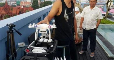 港男駕航拍機硬闖柬埔寨皇宮 被捕獲釋