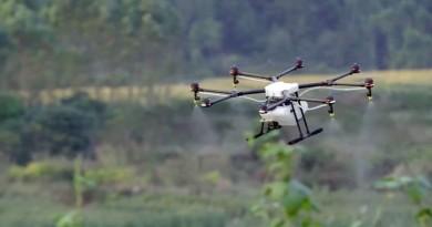 大疆搶攻農業市場 DJI Agras MG-1 無人機施肥殺蟲