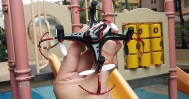 花式飛行無人機 JJRC H22 航行力評測