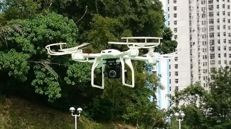 MJX_X101 航拍機測試