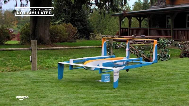 亞馬遜積極研發送貨無人機 Prime Air ,目前已發展至第二代機型。
