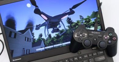 PS3 手掣操控 DJI Phantom 奇趣的無人機模擬飛行體驗
