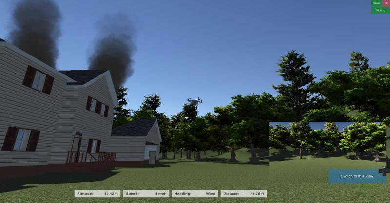 獨立房屋:是的,房子起火了;放心,房子不會燒燬