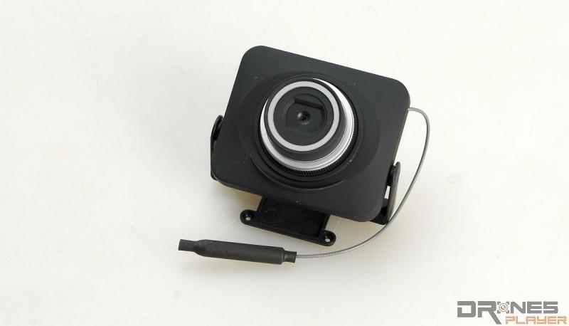 MJX X101 預載原廠航拍攝影機 C4008,可讓航拍玩家手動調校拍攝角度。