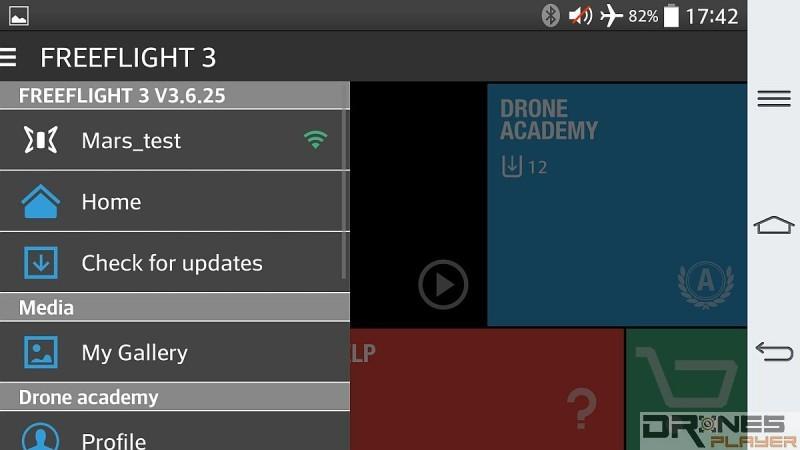 Airborne Cargo需透過《Free Flight 3》app進行操控。