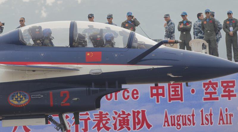 中國空軍高調處置違法無人機 但跟日前瘋傳的無關