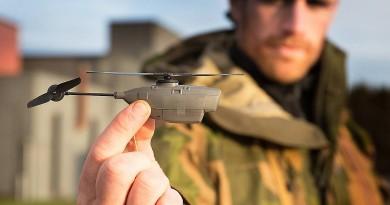 全球最輕空拍機 Black Hornet 2 僅重 18 克 偵察敵情不留痕跡!