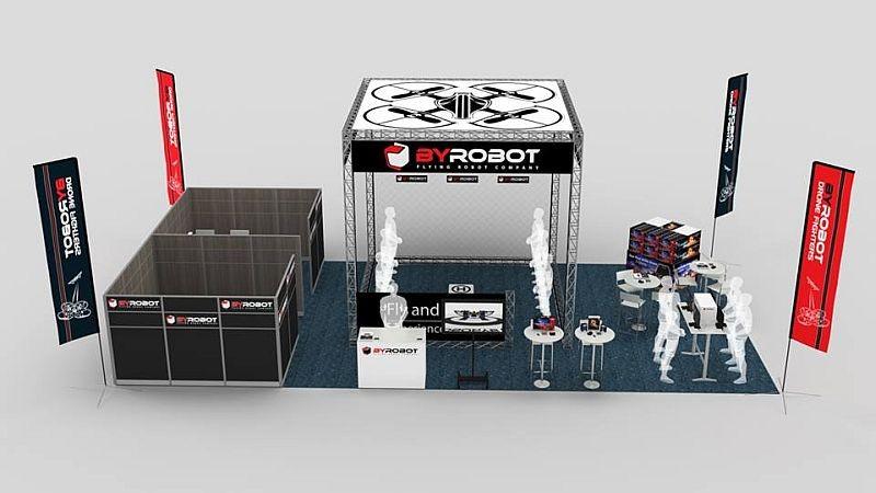BYROBOT CES 2016 參展攤位預覽圖