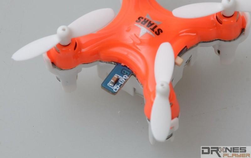DHD D1 Drone 確實太細小了,所以充電接口要突出於機身之外。